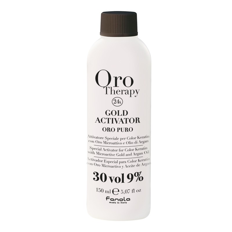 Oro Therapy Oxydant 30 volumes Gold Activator 150ML, Oxydant