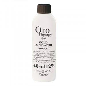 Oro Therapy Oxydant 40 volumes Gold Activator 150ML, Oxydant