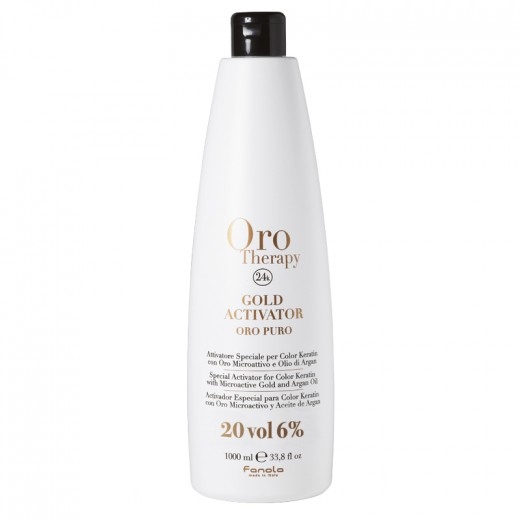 Oro Therapy Oxydant 20 volumes Gold Activator 1000ML, Oxydant