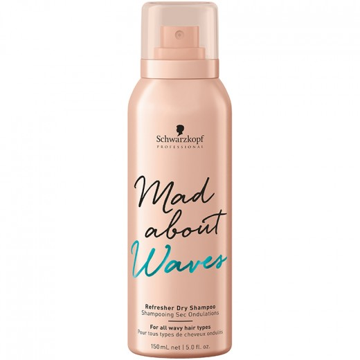 Schwarzkopf Shampooing sec ondulations Mad About Waves 150ML, Shampoing sec