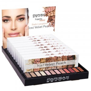 Display de 10 palettes Velvet Peach