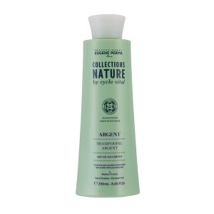 Eugène Perma Shampooing argent Cycle Vital 250ML, Shampoing naturel