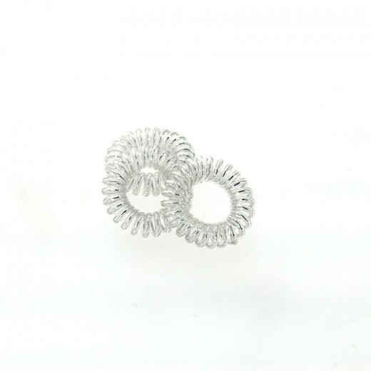 Coiffeo Hair ring Set x3 Argenté, Elastique