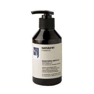 Natura'rt Masque anti-jaunissement Blackcurrant 250ML, Après-shampoing repigmentant