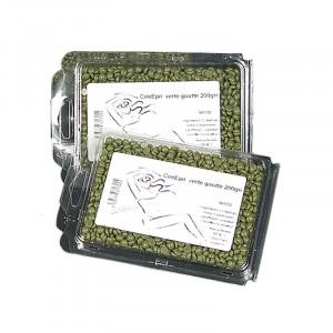 Cire gouttelette recyclable sans bande 200g Verte