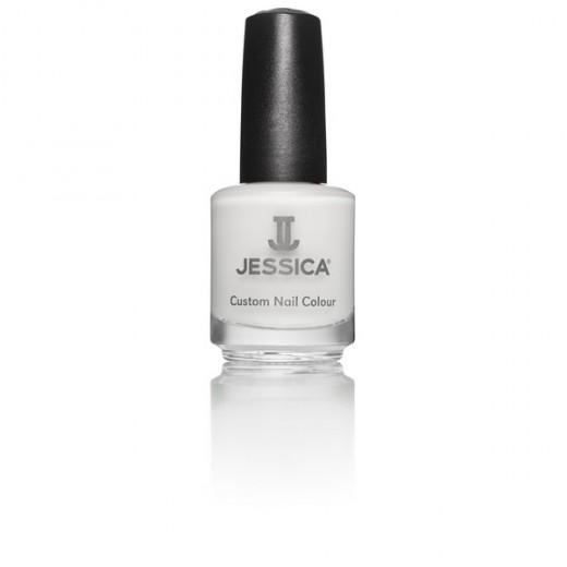 Jessica Vernis àongles Chalk White 14ML, Vernis à ongles couleur
