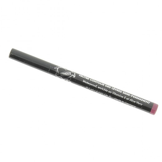 Lip liner semi-permanent bordeau