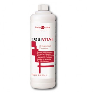 Eugène Perma Soin post coloration Equivital 1000ML, Shampoing technique