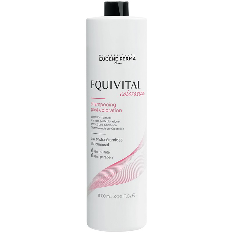 Eugène Perma Shampooing post coloration Equivital 1000ML, Shampoing technique