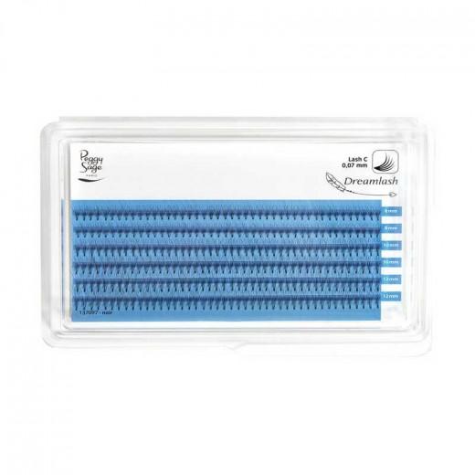Peggy Sage Extension de cils de soie 5D  - courbe extrême 007 x 8-10-12mm, Extensions de cils