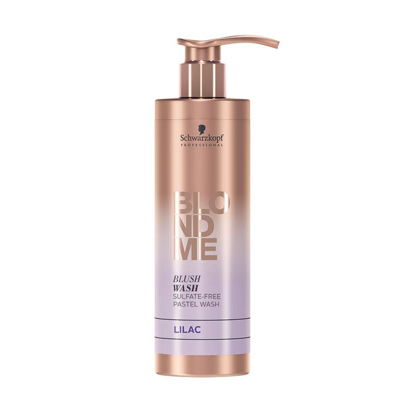 Schwarzkopf Shampooing pastellisant Blush wash Lilas 250ML, Shampoing repigmentant