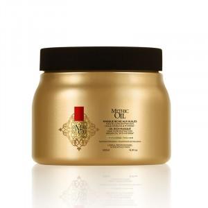 Masque riche aux huiles cheveux épais Mythic Oil
