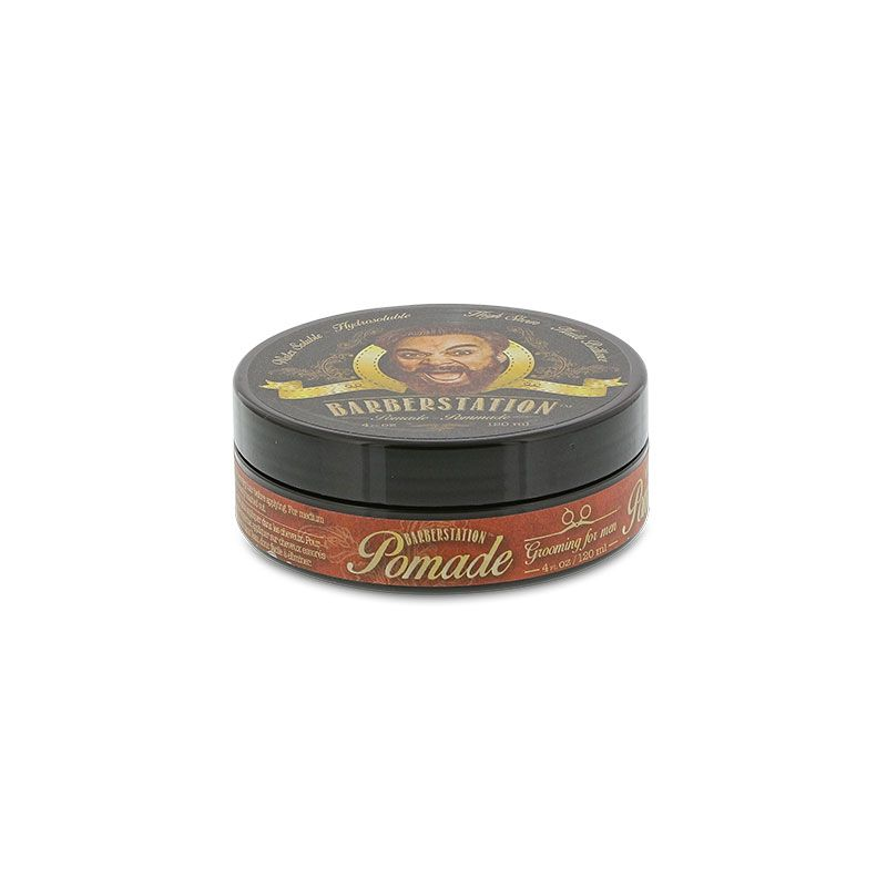Barberstation Pommade hydrosoluble pour cheveux Pomade 120ML, Cire