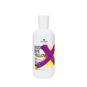 Schwarzkopf Shampooing neutralisant Goodbye Yellow 300ML, Cosmétique