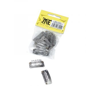 Lot de 12 mini-clips 3cm