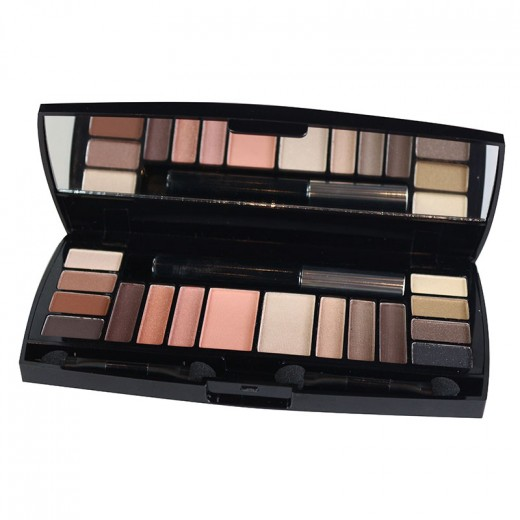 Parisax Palette maquillage 17 couleurs, Palette maquillage