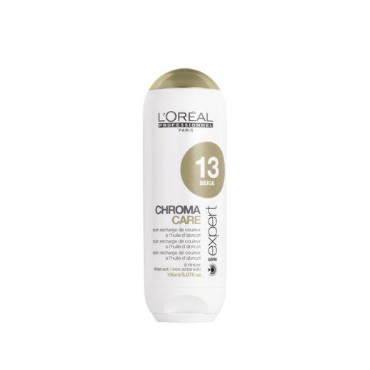 L'Oréal Professionnel Repigmentant beige Chroma Care Serie Expert 150ML, Après-shampoing repigmentant