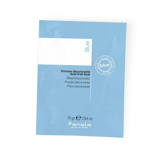 Fanola sachet poudre bleu compacte fanola 75 gr, Poudre décolorante