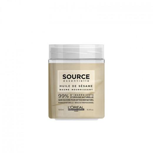 L'Oréal Professionnel Baume masque nourrissant Source Essentielle 500ML, Soin naturel