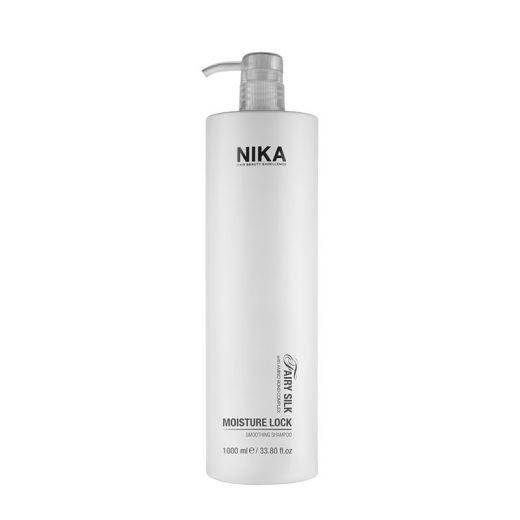Nika Shampoing lissant Moisture Lock - Fairy Silk  1000ML, Cosmétique