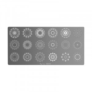 Plaque de stamping nail art Mandala mini