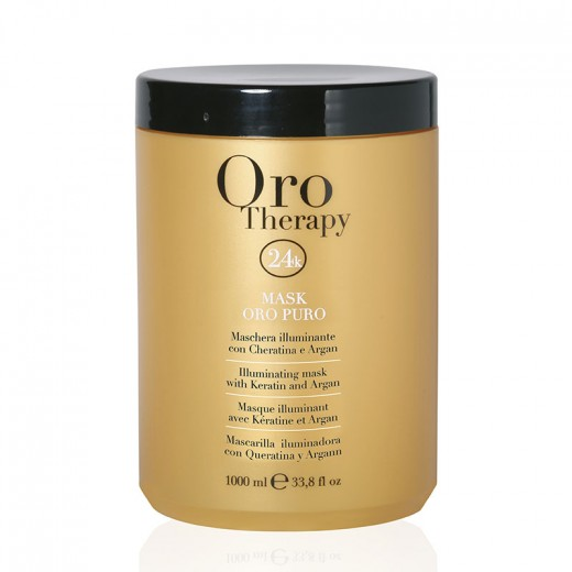 Oro Therapy Masque illuminant Oro Puro 1000ML, Masque cheveux