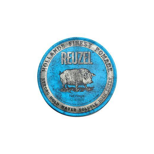 Reuzel Cire pour cheveux fixation forte - Blue pomade 340g, Cire