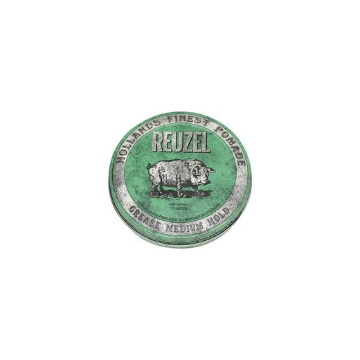 Reuzel Cire pour cheveux fixation moyenne - Green grease pomade 35g, Cire
