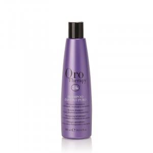 Oro Therapy Shampooing cheveux décolorés Zaffiro Puro 300ML, Cosmétique