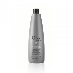 Oro Therapy Conditionneur cheveux sensibilisés Diamante Puro 1000ML, Après-shampoing avec rinçage