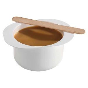 Peggy Sage Pot de cire chaude à épiler Miel 300g, Pot de cire