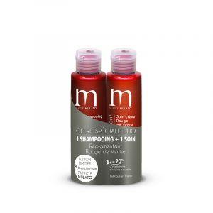 Offre duo repigmentant 1 shampoing + 1 soin Rouge de venise (2x100ml)