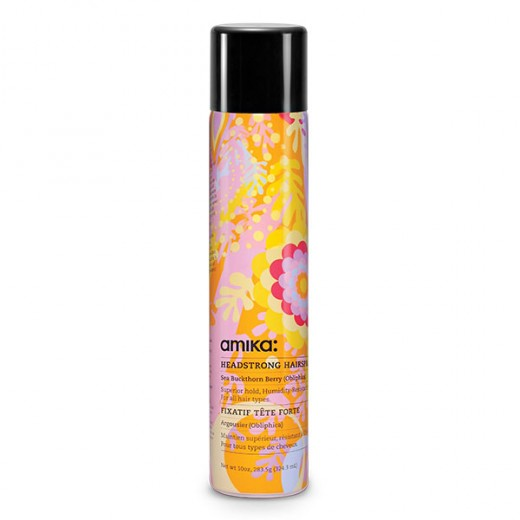 Amika Laque extra forte Headstrong Hairspray 324ML, Spray cheveux
