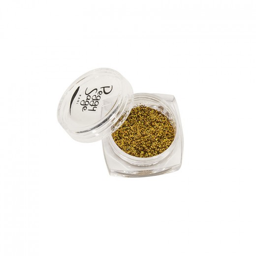 Peggy Sage Paillettes pour ongles Gold rush 1g, Nail Art Strass