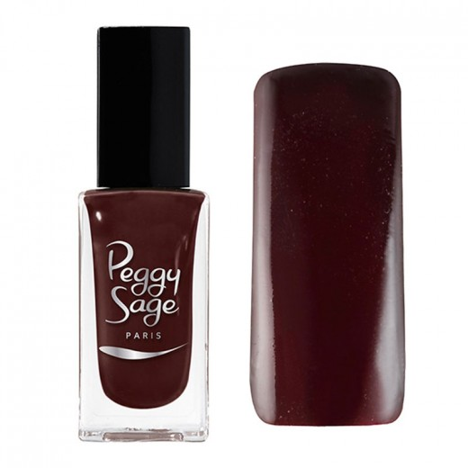 Vernis à ongless grenat peggy sage 11ml