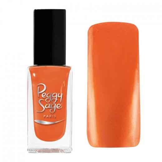 Peggy Sage Vernis à ongles Nacré-Irisé Orange 11ML, Vernis à ongles couleur