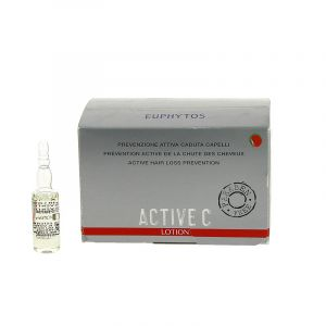Euphytos Cure anti-chute cheveux Active C 12x7ml 84ML, Lotion