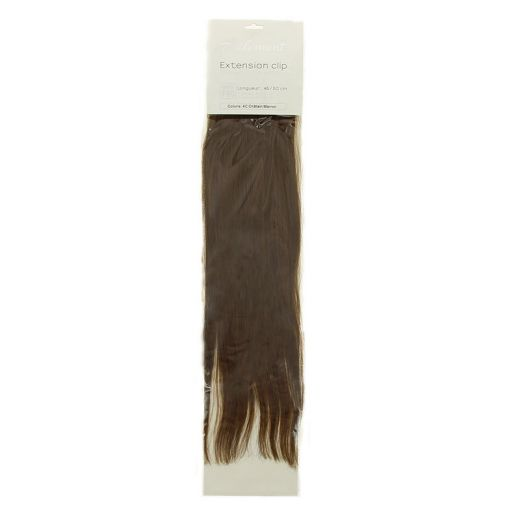 Bandeau extensions naturelles à clips Chatain marron