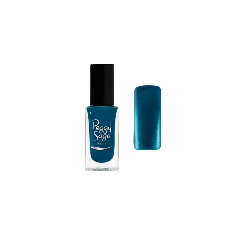 Peggy Sage Vernis à ongles Nacré-Irisé Saphir blue 11ML, Vernis à ongles couleur