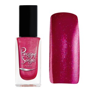 Peggy Sage Vernis à ongles Pailleté Dancing pink 11ML, Vernis à ongles couleur
