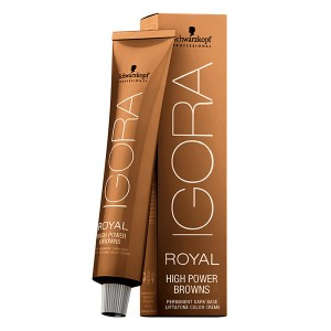 Schwarzkopf Coloration permanente Igora Royal High Power Brown 60ML, Coloration d'oxydation
