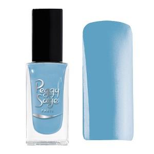 Peggy Sage Vernis à ongles Nacré-Irisé Bleu dragée 11ML, Vernis à ongles couleur
