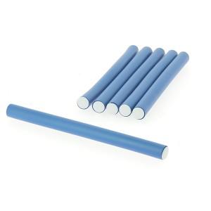 Flexi rollers 14mmx18cm x6 Bleu