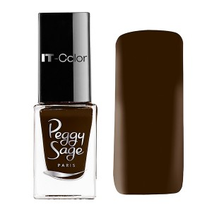 Peggy Sage Mini vernis à ongles IT-Color Brune 5ML, Vernis à ongles couleur