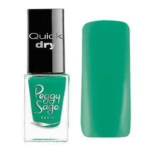 Peggy Sage Mini vernis à ongles Quick Dry Eva 5ML, Vernis à ongles couleur