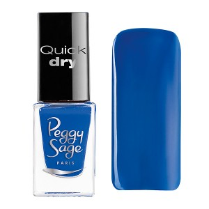 Peggy Sage Mini vernis à ongles  Quick dry Marine 5ML, Vernis à ongles couleur