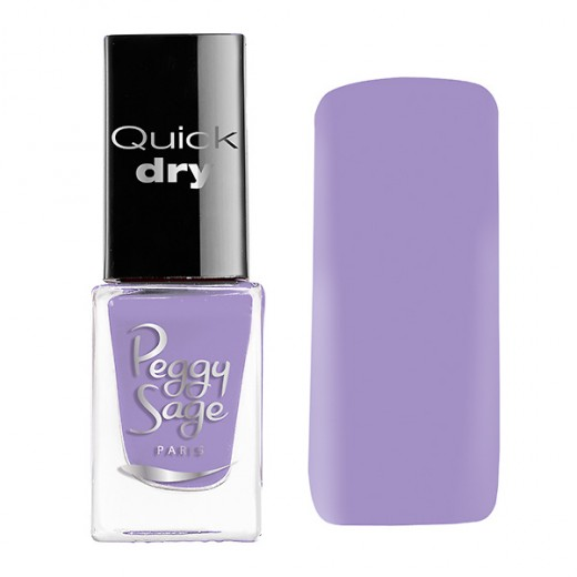 Peggy Sage Mini vernis à ongles Quick Dry Emilie 5ML, Vernis à ongles couleur