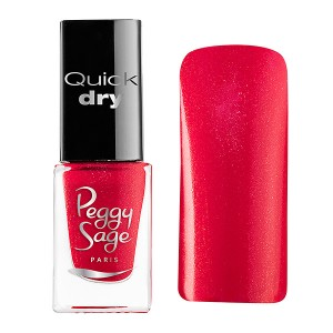 Peggy Sage Mini vernis à ongles Quick Dry Julie 5ML, Vernis à ongles couleur