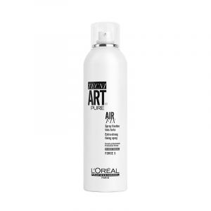L'Oréal Professionnel Spray fixation extra forte - Air Fix Pure 400ML, Spray cheveux