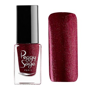 Peggy Sage Mini vernis à ongles Perfect Lasting Red ceremony 5ML, Vernis à ongles couleur